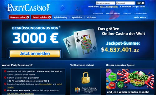 party casino erfahrungen