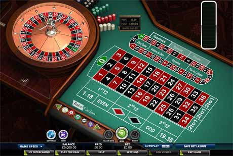 roulette free play no download